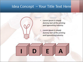 Injection of botox PowerPoint Template - Slide 80