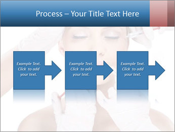 Injection of botox PowerPoint Template - Slide 88