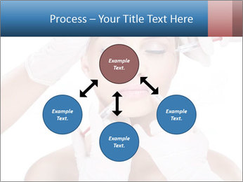 Injection of botox PowerPoint Template - Slide 91