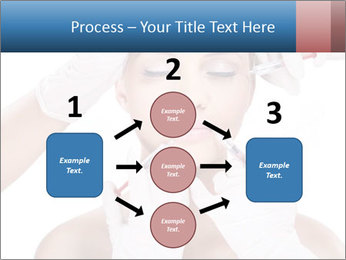 Injection of botox PowerPoint Template - Slide 92