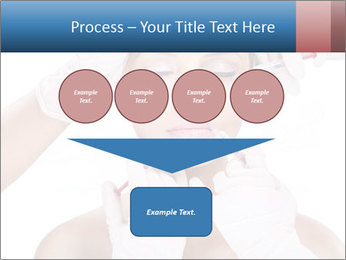 Injection of botox PowerPoint Template - Slide 93