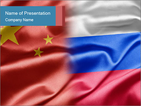 China and Russia PowerPoint Template