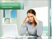 Business woman PowerPoint Templates