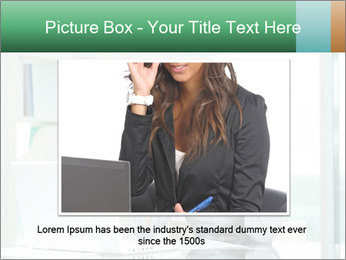 Business woman PowerPoint Template - Slide 15