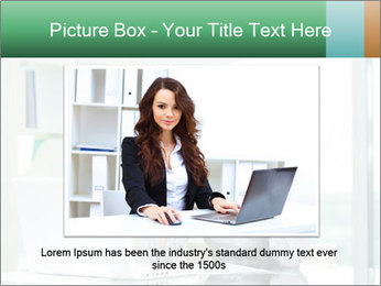 Business woman PowerPoint Template - Slide 16