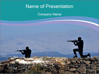 Mount Bental PowerPoint Template