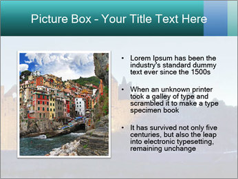 Peel Castle floodlit PowerPoint Template - Slide 13