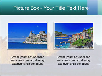 Peel Castle floodlit PowerPoint Template - Slide 18