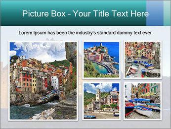 Peel Castle floodlit PowerPoint Template - Slide 19