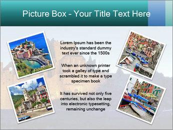 Peel Castle floodlit PowerPoint Template - Slide 24