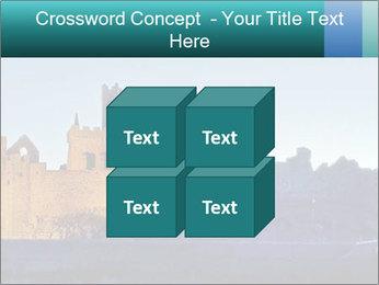 Peel Castle floodlit PowerPoint Template - Slide 39