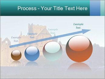 Peel Castle floodlit PowerPoint Template - Slide 87
