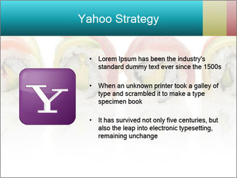 Sushi Rolls PowerPoint Template - Slide 11