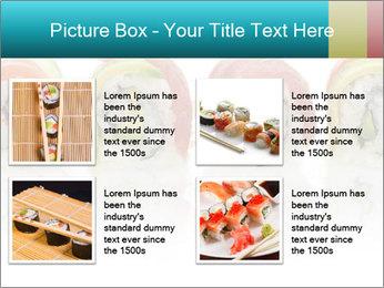 Sushi Rolls PowerPoint Template - Slide 14