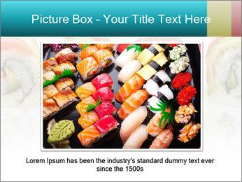 Sushi Rolls PowerPoint Template - Slide 15