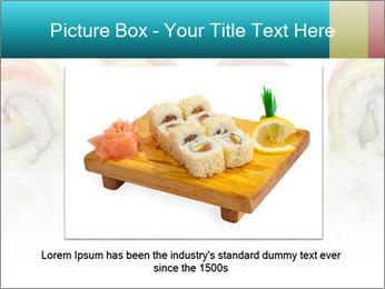 Sushi Rolls PowerPoint Template - Slide 16
