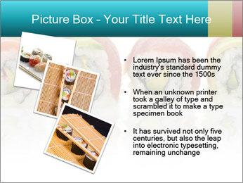 Sushi Rolls PowerPoint Template - Slide 17