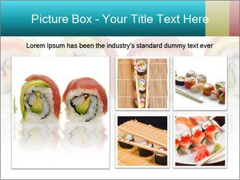 Sushi Rolls PowerPoint Template - Slide 19