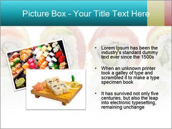 Sushi Rolls PowerPoint Template - Slide 20