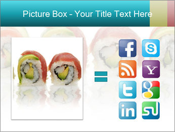Sushi Rolls PowerPoint Template - Slide 21
