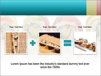 Sushi Rolls PowerPoint Template - Slide 22