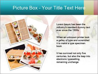Sushi Rolls PowerPoint Template - Slide 23
