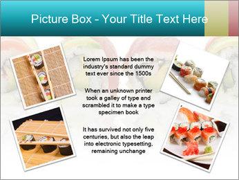 Sushi Rolls PowerPoint Template - Slide 24
