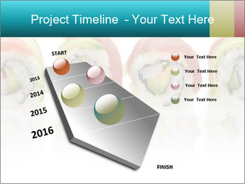 Sushi Rolls PowerPoint Template - Slide 26