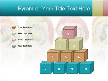 Sushi Rolls PowerPoint Template - Slide 31