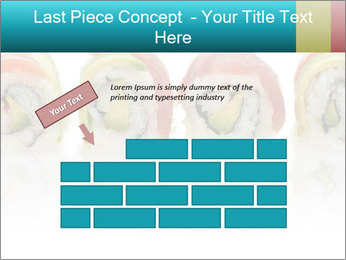 Sushi Rolls PowerPoint Template - Slide 46