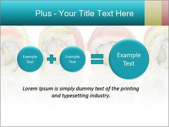 Sushi Rolls PowerPoint Template - Slide 75