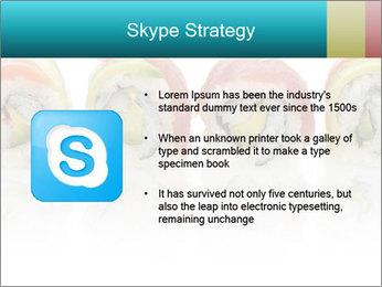 Sushi Rolls PowerPoint Template - Slide 8