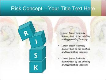 Sushi Rolls PowerPoint Template - Slide 81