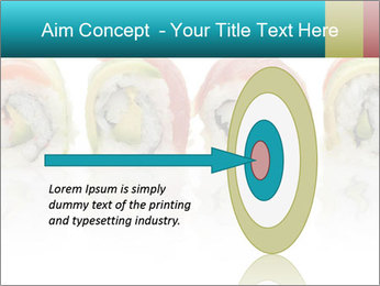 Sushi Rolls PowerPoint Template - Slide 83