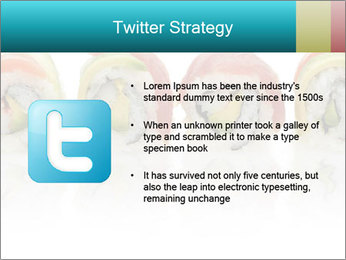 Sushi Rolls PowerPoint Template - Slide 9