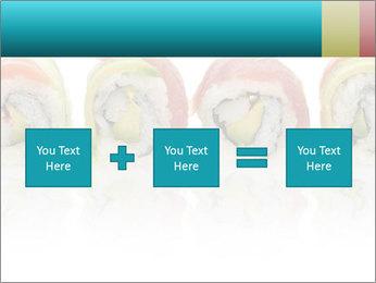 Sushi Rolls PowerPoint Template - Slide 95