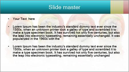 Sushi Rolls PowerPoint Template - Slide 2