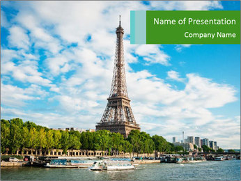 The Eiffel Tower PowerPoint Template