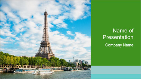 the eiffel tower powerpoint template backgrounds google slides