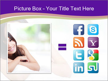 Charming woman PowerPoint Template - Slide 21