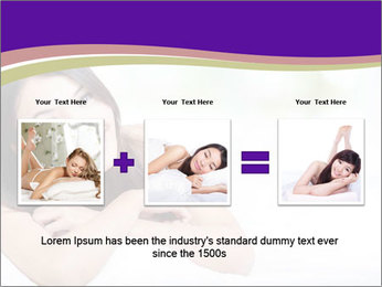 Charming woman PowerPoint Template - Slide 22