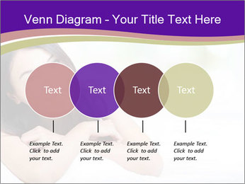 Charming woman PowerPoint Template - Slide 32