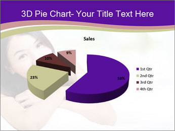 Charming woman PowerPoint Template - Slide 35