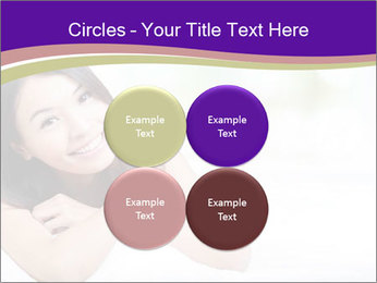 Charming woman PowerPoint Template - Slide 38