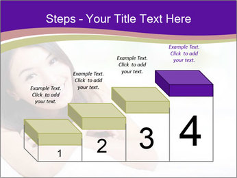 Charming woman PowerPoint Templates - Slide 64