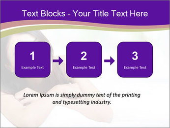 Charming woman PowerPoint Template - Slide 71