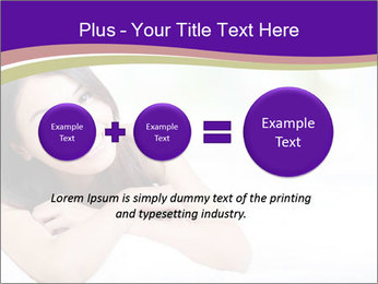 Charming woman PowerPoint Template - Slide 75