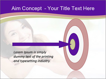 Charming woman PowerPoint Template - Slide 83