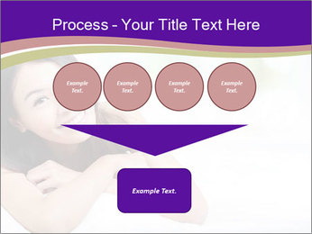 Charming woman PowerPoint Templates - Slide 93