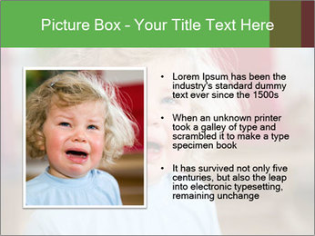 Child is crying PowerPoint Template - Slide 13